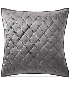 Hotel Collection Silk Quilted European Sham, Created for Macy's
