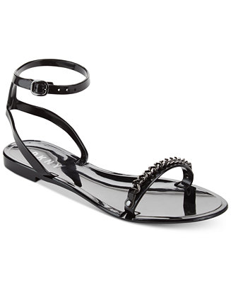 23b82786f971ad DKNY. MONA ANKLE-STRAP SANDALS ...