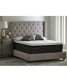 Stearns & Foster Lux Estate  Hybrid Shearwater Luxury Firm Mattress Set- Queen Split