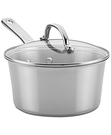 Ayesha Curry Home Collection 3-Qt. Stainless Steel Saucepan & Lid
