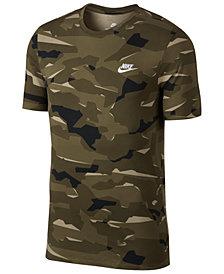 Nike Men's Sportswear Camo-Print T-Shirt