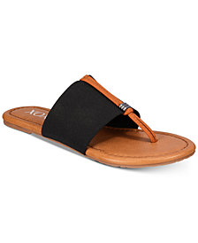 XOXO Ganelo Thong Flat Sandals