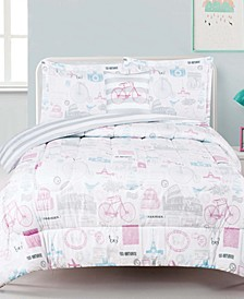 World Traveler Comforter Sets