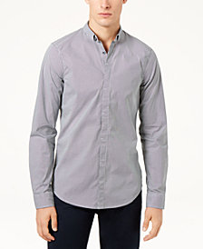 A|X Armani Exchange Men's Dot-Print Slim Fit Shirt
