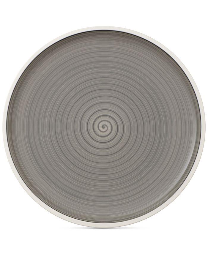 Villeroy & Boch - Manufacture Gris Pizza/Buffet Plate