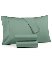 Charter Club Sleep Cool 4-Pc. Full Sheet Set, 400 Thread Count Cotton TENCEL®, Created for Macy's