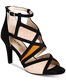 Rialto Ria Colorblocked Dress Sandals