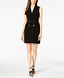 Calvin Klein Double-Breasted Blazer Dress
