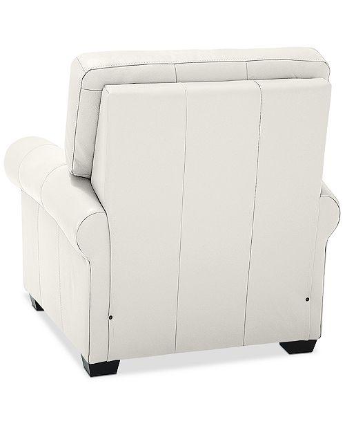 Miraculous Orid 36 Leather Pushback Recliner Created For Macys Inzonedesignstudio Interior Chair Design Inzonedesignstudiocom
