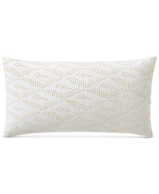 "Honeycomb 14"" x 24"" Decorative Pillow, Created for Macy's"
