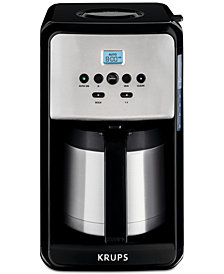 Krups ET351050 12-Cup Savoy Programmable Thermal Coffee Maker