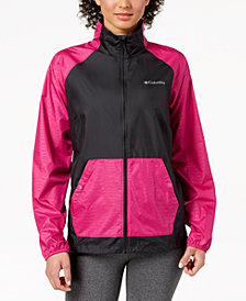 Columbia Tabor Point Water-Resistant Packable Windbreaker, Created for Macy's