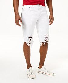Heritage American Men's Destructed Jean Shorts