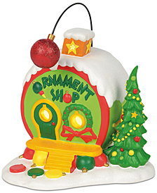 Department 56 Villages Whoville Ornament Shop
