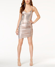 GUESS Breana Metallic Bodycon Dress