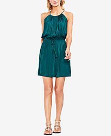 Vince Camuto Halter A-Line Dress