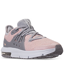Nike Little Girls' Air Max Sequent 3 Running Sneakers from Finish Line
