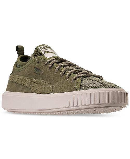 821a45830e54e3 ... Puma Men s Breaker Mesh Casual Sneakers from Finish Line ...