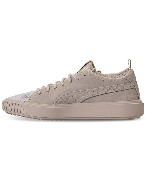 12604b0cd6f025 Puma Men s Breaker Mesh Casual Sneakers from Finish Line   Reviews ...
