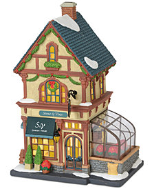 Department 56 Villages Stems and Vines Garden House