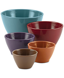 Rachael Ray 5-Pc. Melamine Nesting Measuring Cup Set