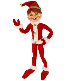 Annalee Red Jinglebell Elf