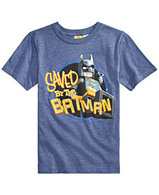 LEGO® Little Boys Batman Graphic-Print T-Shirt