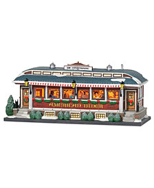 Department 56 Villages American Diner Figurine