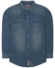 Levi's® Boys Denim Pocket Shirt
