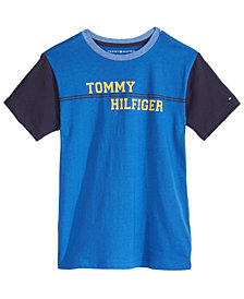 Tommy Hilfiger Big Boys Leo Graphic-Print Cotton T-Shirt