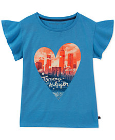 Tommy Hilfiger Big Girls City Heart T-Shirt