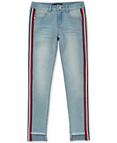 7f501217e6 Tommy Hilfiger Big Girls Skinny Step Up Jeans