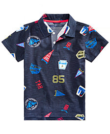 Tommy Hilfiger Toddler Boys Printed Cotton Polo