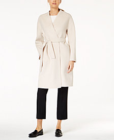 Weekend Max Mara Tie Waist Virgin Wool Jacket