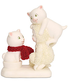 Department 56 Snowbabies The Trouble With Cats Figurine