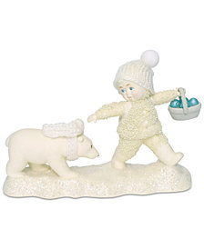Department 56 Snowbabies Peace Tag-A-Long Figurine