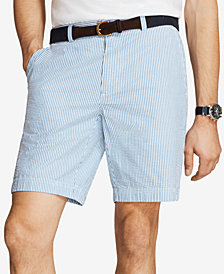 "Brooks Brothers Red Fleece Men's Seersucker 9"" Shorts"