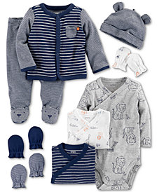 Carter's Baby Boys Lion & Stripe Layette Separates