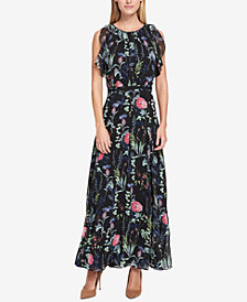 Tommy Hilfiger Floral-Print Maxi Dress