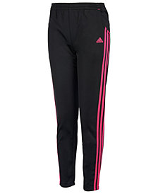 adidas Little Girls Warm Up Tricot Pants