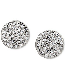 Pavé Disc Stud Earrings, Created for Macy's