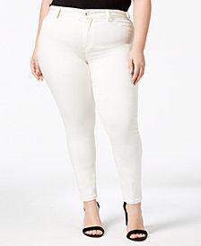 Calvin Klein Plus Size Straight Leg Career Pants