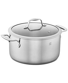 Zwilling J.A. Henckels Spirit Stainless Steel 6-Qt. Dutch Oven & Lid