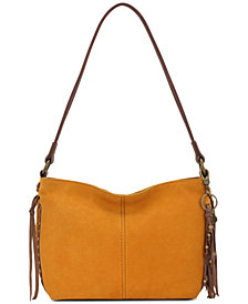 The Sak Indio Suede Demi Shoulder Bag
