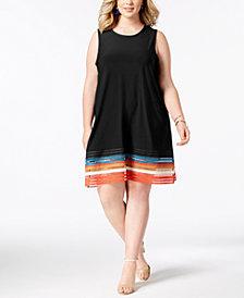 Love Scarlett Plus Size Cutout-Hem A-Line Dress