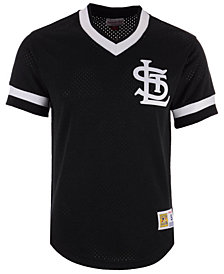 Mitchell & Ness Men's St. Louis Cardinals Mesh V-Neck Jersey