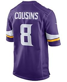 Nike Men's Kirk Cousins Minnesota Vikings Game Jersey