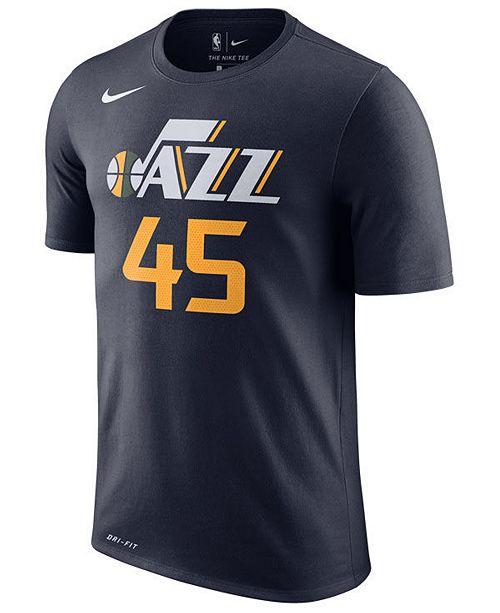 cheap for discount f938d b1717 Donovan Mitchell Utah Jazz Icon Name and Number T-Shirt, Big Boys (8-20)