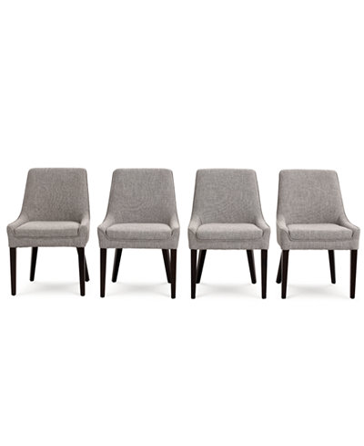 Everly Dining Chair, 4-Pc. Set (4 Alpha Side Chairs)