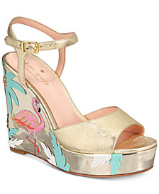 kate spade new york Darie Wedge Sandals